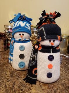 More sock snowmen I madehttps://m.facebook.com/mandyscottcreations/
