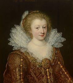 Jan Anthonisz van Ravesteyn, Portret van Catharina Belgica (1578-1648), 1617