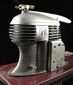 Machine Age / Art Deco Paint Compressor - Home Model Engine Machinist