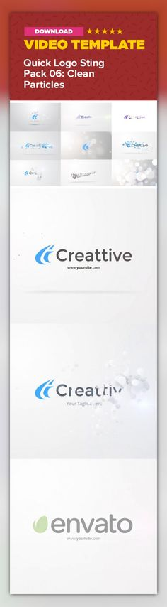 bright, circle, clean, corporate, intro, logo, logo reveal, minimal, particles, professional, reveal, serious, simple, sting, white        This is a Collection of 7 Animations: 6 short and professional Quick Logo Stings + 1 Full Length Logo Reveal. Use it as quick Intro/Outro, or Transition between scenes. Perfect for users who want to showcase their logo as often as they can, without annoying their viewers.       The clean, minmal and simple style of the Stings ensures your Logo will get…