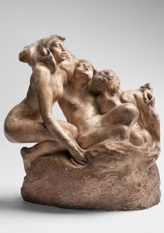 By Auguste Rodin (1840-1917), 1887, The Sirens, Plaster.