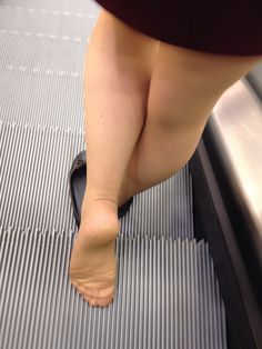 Untitled — in-pantyhose: Selfshot in sheer pantyhose in a...