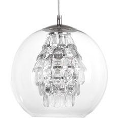 Glass Globe Ceiling Lamp with Pendant Droplets @ Bouclair Furniture Decor, Modern Furniture, Ceiling Lamp, Ceiling Lights, Stylish Home Decor, Glass Globe, Window Coverings, Cool Lighting, Home Furnishings