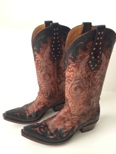 These are awesome boots for an awesome price!!  Old Gringo women's cowboy boots 8M