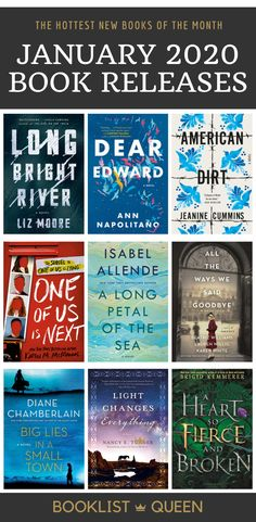 January 2020 Book Releases Looking for book suggestions? Here are all the hot January 2020 book releases. Find out which January 2020 book releases are getting all the attention. Best Books To Read, New Books, Good Books, Up Book, Book Club Books, Book Nerd, Book Suggestions, Book Recommendations, Reading Lists