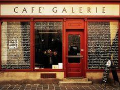 Café Galerie in Innsbruck, Austria.