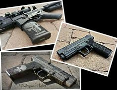 Checkout the grips on the hand guns!!