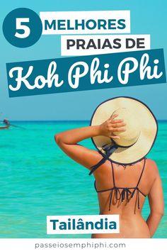 Lista super completa com as 5 melhores praias de Koh Phi Phi com dicas de como chegar, quando visitar, melhor ordem e fotos da Tailândia para te ajudar a planejar suas férias por esse país incrível da Ásia, Sudeste Asiático. Tem desde a Long beach, que você pode chegar a pé desde o centrinho de Phi Phi Don até a Bamboo Island, uma das praias e ilhas mais conhecidas e amadas da Tailândia. #thailand #thailandia #tailandia #viagem #mayabay Krabi, Chiang Mai, Phuket, Bamboo Island, Bangkok, Maya Bay, Long Beach, Lantern Festival, Beaches