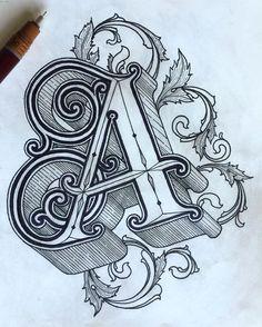 Name art - sharechat Tattoo Fonts Alphabet, Tattoo Lettering Fonts, Hand Lettering Alphabet, Graffiti Alphabet, Graffiti Lettering, Creative Lettering, Lettering Styles, Calligraphy Letters, Lettering Design