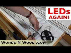 Hacking LED strip lights.  AGAIN!   Last Time!  Promise! (WnW #59) - YouTube