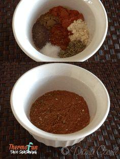 ThermoFun - Taco Seasoning Recipe