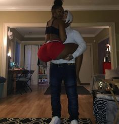 Image may contain: 1 person, standing, shoes, living room and indoor Freaky Relationship Goals Videos, Couple Goals Relationships, Relationship Goals Pictures, Couple Relationship, Black Love Couples, Teen Couples, Cute Couples Goals, Couple Tumblr, Mode Rihanna