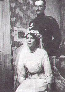 Olga Alexandrovna Romanova + Nikolai Alexandrovich Kulikovsky