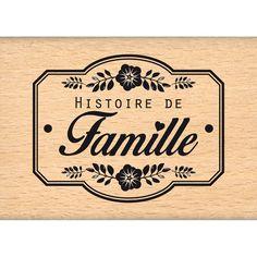 Tampon+bois+UNE+HISTOIRE+DE+FAMILLE