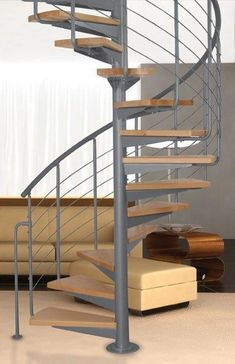 Točité schody   Vřetenové schodiště - ATRIUM SYSTEM EASY 120   SCHODY MORAVA - schody, nerezové zábradlí