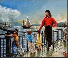 I WANT TO BE LIKE YOU Michael è il cantante preferito della mia mamma. È una sua grande fan da quando era più piccola di me conosce tutte le sue canzoni, si informa sempre su di lui, sui concerti che fa in giro per il mondo e sulle buone azioni che compie grazie anche alla sua musica, per fare del bene alle persone meno fortunate di lui...  (continua a leggere)