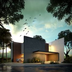 Exterior Rendering Project: Kanha House