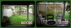 how to make an easy patio privacy screen step by step tutorial, outdoor living, I now have some privacy