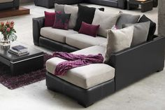 Arizona 3 Seater Corner Lounge Suite with Chaise from Harvey Norman New Zealand