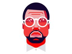 Kanye West by Anthony Dimitre