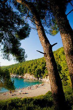 Beach in Skopelos - Kastani, Greece