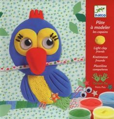 Toys For 4 yr Old Girls: Djeco Modeling Clay Kit - Plastifriends This whimsical Friends Light Clay kit from Djeco will guide your young child bit by bit through the creation of five simple, flat, three-dimensional animals.