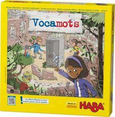 Jeu Vocamots, Jeu de société Haba 301610, Achat/vente, Jeu d'apprentissage vocabulaire, Gouzmireves