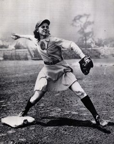 <b>There's no crying in baseball – but there's a whole lot of yelling, smiling, posing, and playing hard.</b> The All-American Girls Professional Baseball League was a women's baseball league founded founded in 1943 in order to keep public interest in baseball alive while the able-bodied male athletes were fighting the war abroad.