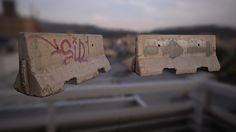 ArtStation - Photoscanned Concrete Barriers 01, Franco Pizzani