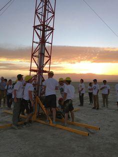 Rocket Lab setting up their rocket! #ViterbiOrg #ViterbiResearch