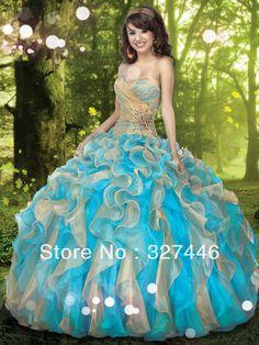 vestidos de 15 anos azul - Pesquisa Google