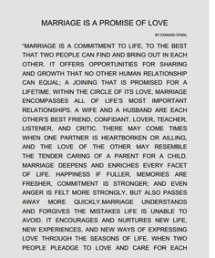 Dreams Riviera Cancun Ceremony 'Marriage is a promise of love' script: