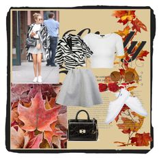"""""""#autumn"""" by emira-besirovic ❤ liked on Polyvore featuring DVF, Brigitte Bardot, Topshop, WithChic, Diane Von Furstenberg, Forever 21, women's clothing, women, female and woman"""