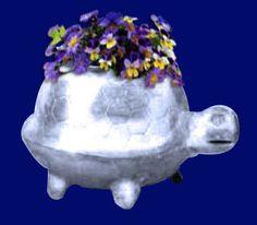 Turtle- River Turtle Planter