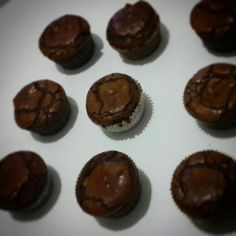 Peanut butter filled chocolate cupcake