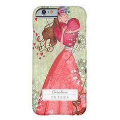 Valentine Heart Love Girl   Iphone 6 case