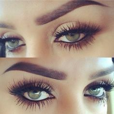 Super long lashes... want!