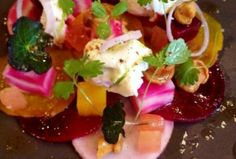 """See 22 photos and 10 tips from 140 visitors to Mulberry Garden. """"One of the Nicest restaurants in Dublin. Restaurants In Dublin, Wood Sorrel, Sea Vegetables, Fish And Meat, Dinner Is Served, Irish, Good Food, Presentation, Artisan"""