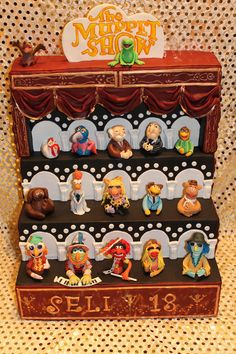 Muppets Theatre Cake made by Machus Sweetmeats