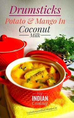 How to make Sahjan Ki Phali & Potato Curry | Moringa Pods & Potato Curry In Coconut Milk| Tangy Mango & Drumstick Curry in Fresh H...