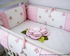 Идеи для бортиков на детскую кроватку своими руками