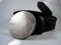 Man on the Moon Belt Buckle  Etched Stainless by RhythmicMetal, $60.00