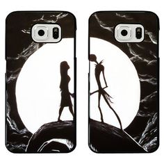 Bset Friend Nightmare Before Christmas Corpse Bride Lovers Couples Cell Phone Covers For Samsung Galaxy S 6 Galaxy S6 Edge Case Alternative Measures