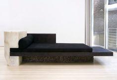 Rick Owens black bed