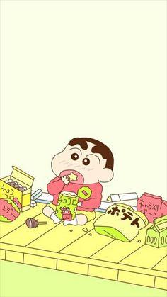 Shinchan Sinchan Wallpaper, Cartoon Wallpaper Iphone, Kawaii Wallpaper, Cute Cartoon Wallpapers, Galaxy Wallpaper, Sinchan Cartoon, Cute Bunny Cartoon, Doraemon Cartoon, Crayon Shin Chan