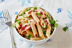 Pea and Pancetta Pasta