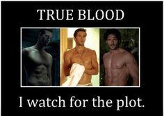 The Men of True Blood (Eric, Jason, Alcide)