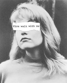 Fire Walk With Me Art Print by VAGABOND https://society6.com/product/fire-walk-with-me-nib_print via @society6