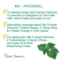 Essential Oil Patchouli Tips And Techniques For Patchouli Essential Oil uses Patchouli Oil, Patchouli Essential Oil, Essential Oils For Skin, Essential Oil Uses, Peppermint Spray, Spearmint Essential Oil, Aromatherapy Oils, Wellness, Healing Herbs