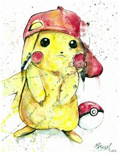 Pikachu Pokemon Video Game Character by PascualProductions on Etsy